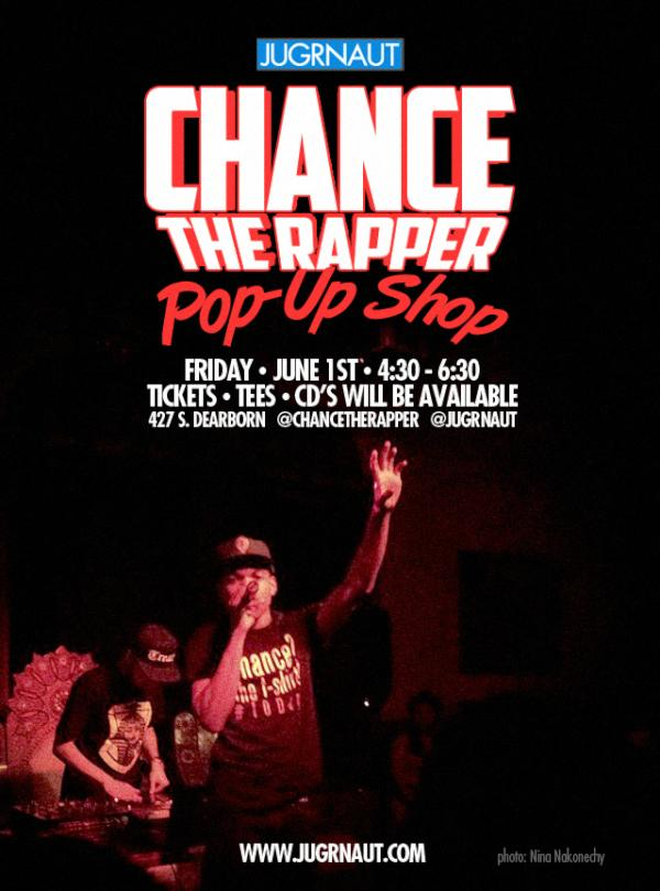 a75ed2d2 In the midst of his Prom Night event being canceled, Chance The Rapper has  cordially invited all his fans to head over to Jugrnaut this Friday for an  ...