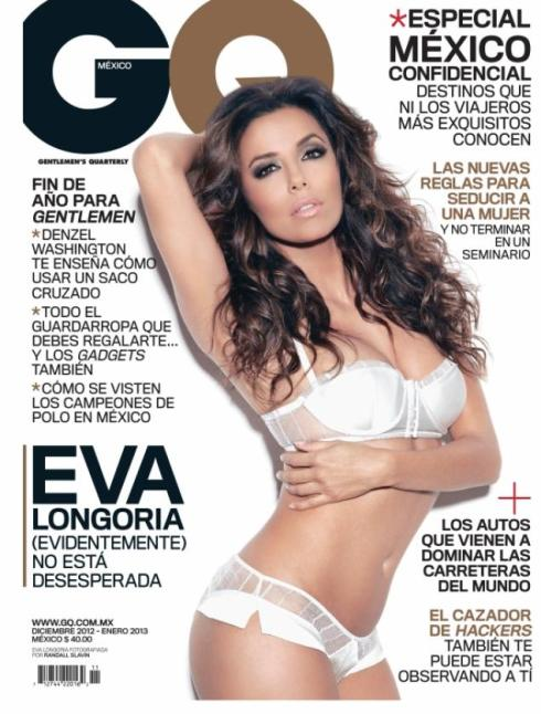 Eva Longoria GQ Mexico Cover