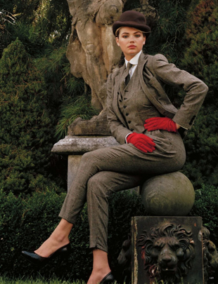 Kate Upton Vogue Germany 5
