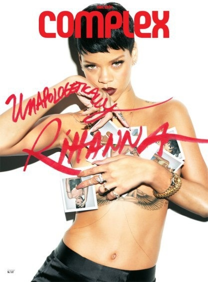 Rihanna Complex  Unapologetic Cover