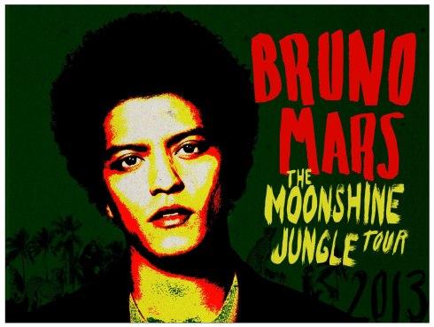 Bruno Mars 2013 Tour