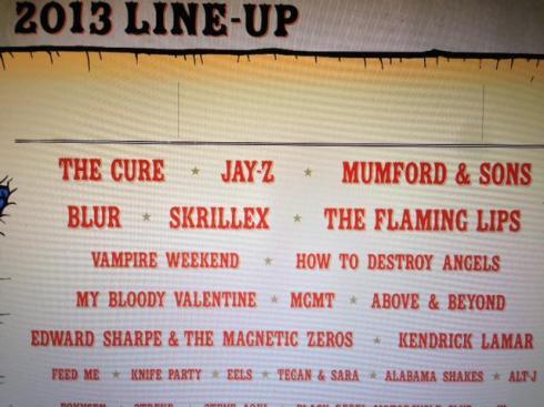 Lineup2013