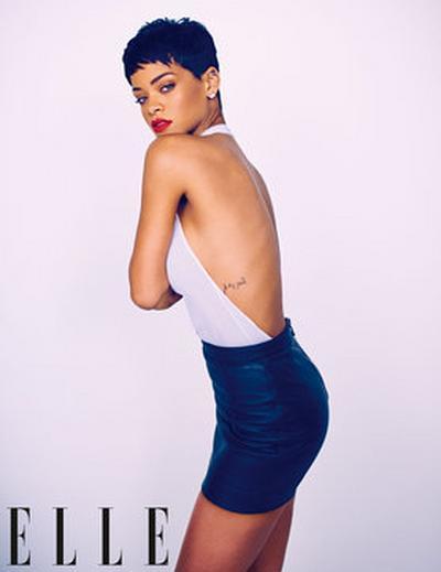 Rihanna Covers Elle Uk April 2013 4