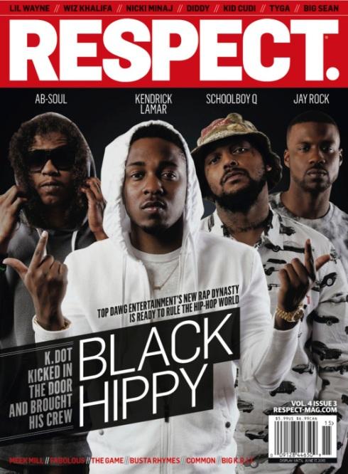 Black Hippy Respect 2013 Cover