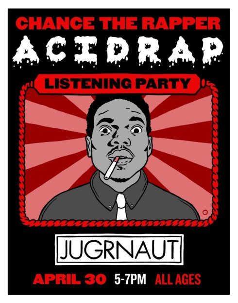 Chance The Rapper AcidRap Listening Party