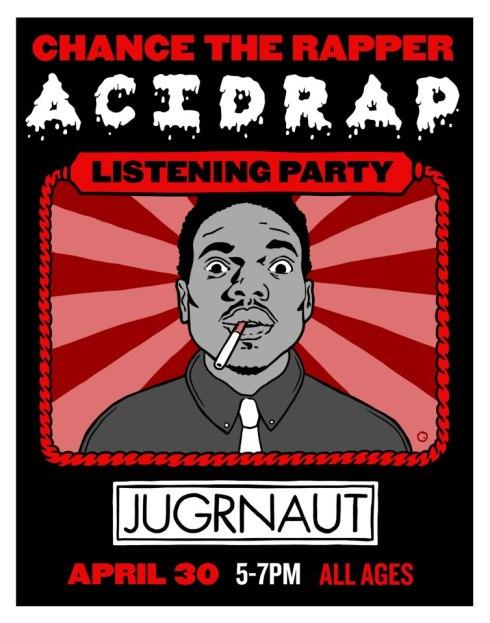 Chance The Rapper AcidRap Listening Party