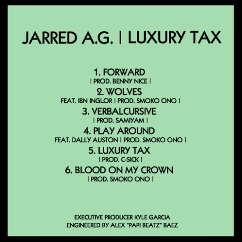 Luxury Tax Tracklist