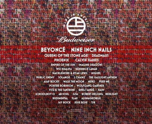 made in america 2013 lineup